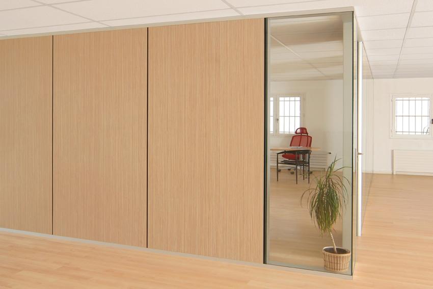 Une cloison amovible AMSO, pratique pour cloisonner un espace avec style