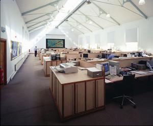 Des bureaux open space, cauchemar du travailleur consciencieux