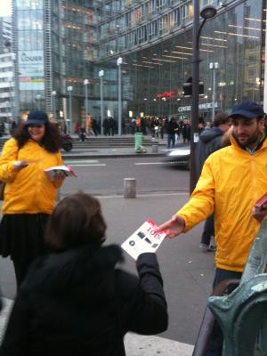 Distribution de flyers par Media Street