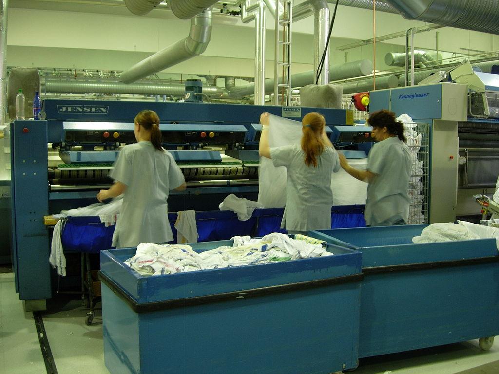 Unavista, logiciel de blanchisserie industrielle